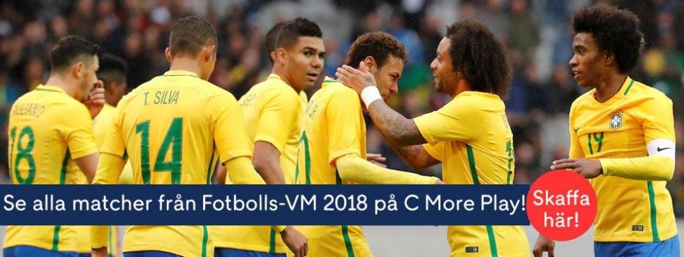 Brasiliens trupp VM 2018 – Brasilianska truppen till fotbolls-VM 2018!