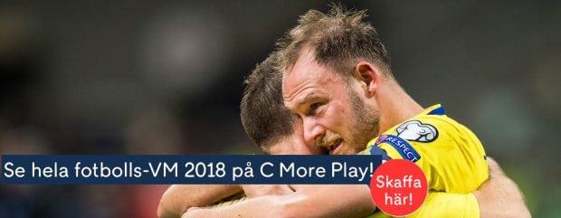 Fotbolls VM 2018 TV Tider