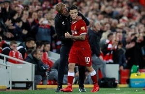 Liverpool ersätter inte Philippe Coutinho