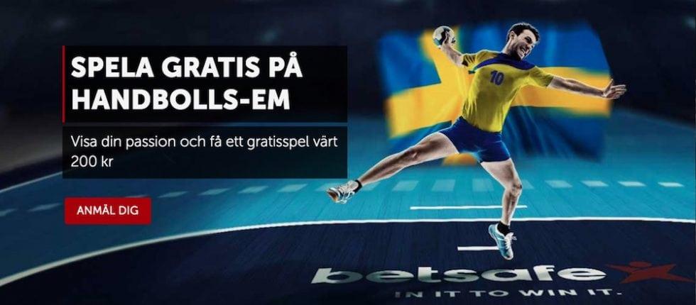 Odds Sverige Spanien 2018 - bästa oddset final handbolls EM 2018!