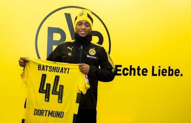 Officiellt- Michy Batshuayi klar för Dortmund