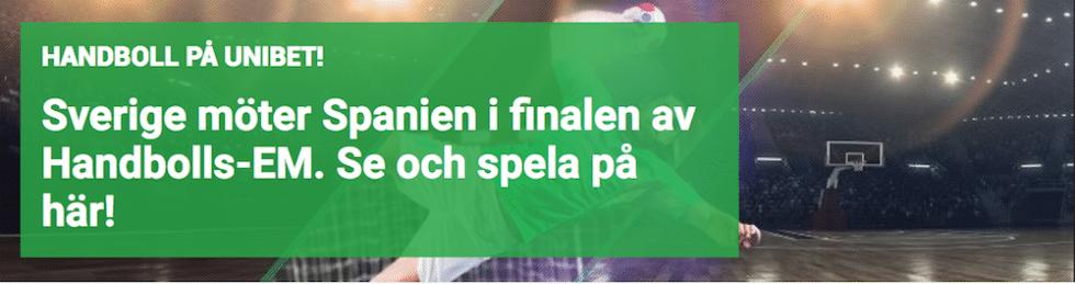 Sverige Spanien handboll final stream