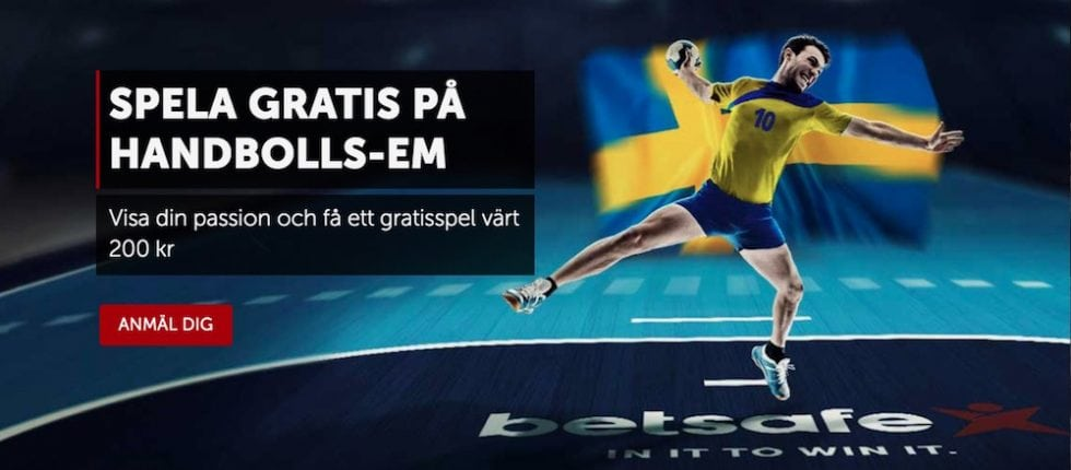 TV Kanal Sverige Spanien final handboll EM
