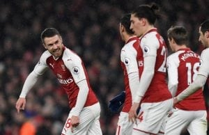 Aaron Ramsey förhandlar om nytt kontrakt med Arsenal