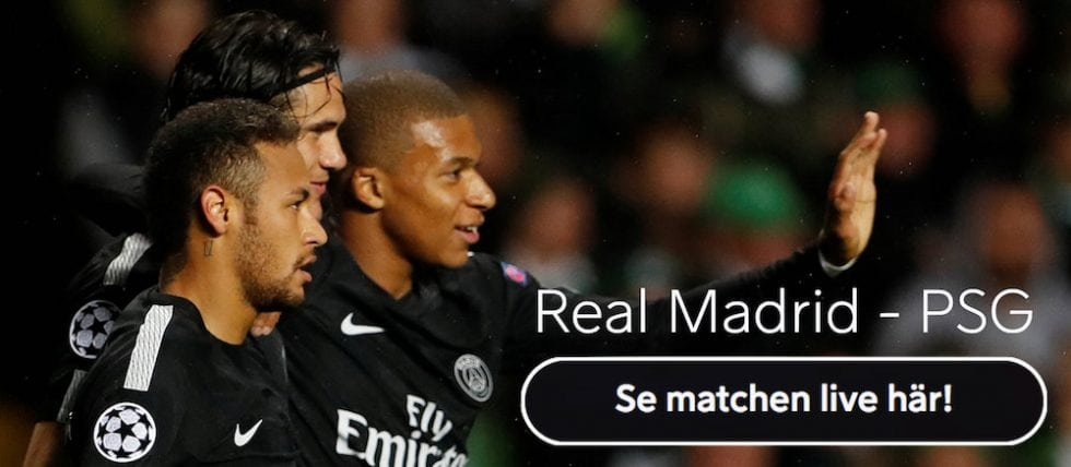 Bäst odds PSG Real Madrid