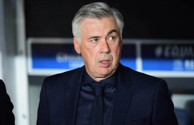 Carlo Ancelotti nobbar jobb i PSG