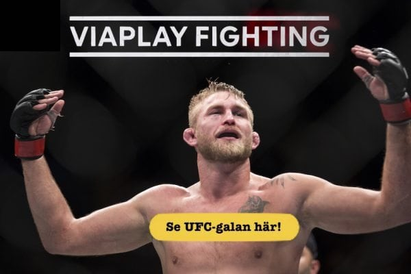 MMA live streaming Viaplay Fighting!