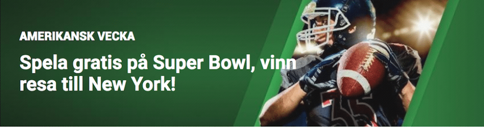 Super Bowl 2019 TV Sverige