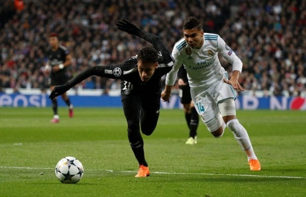 Uppgifter: Neymar vill se Casemiro i PSG efter sommaren