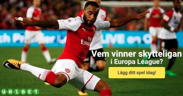 Vem vinner skytteligan i Europa League