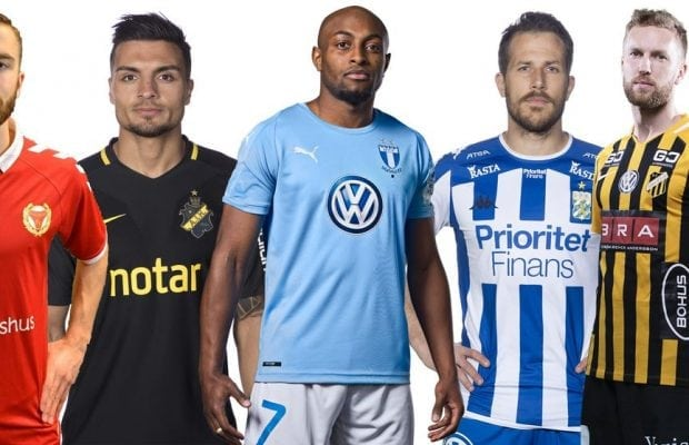 Allsvenskan matchtröjor 2018 - snyggaste matchtröjan i Allsvenskan 2018!