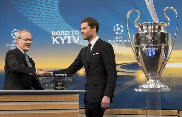 Champions League kvartsfinaler - lottning + spelprogram