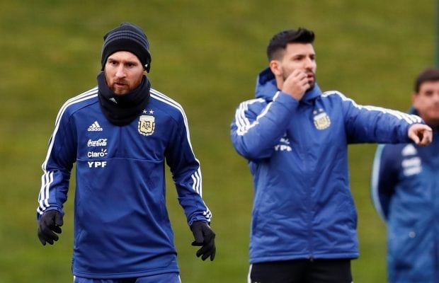 Då lämnar Sergio Aguero Manchester City