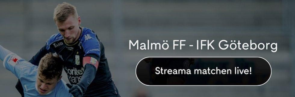 Malmö FF IFK Göteborg live stream gratis? Streama Göteborg Malmö FF livestream online!