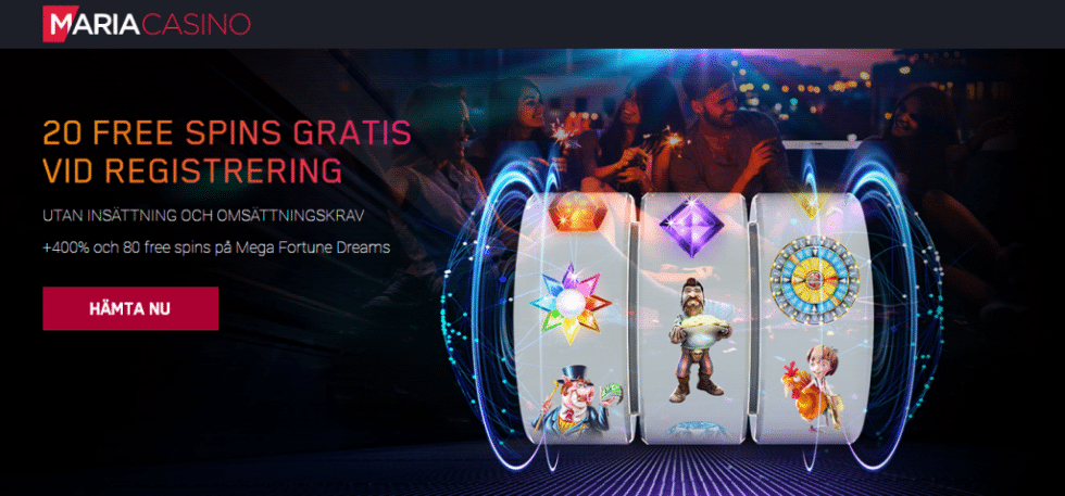casino gratis free spins utan insättning