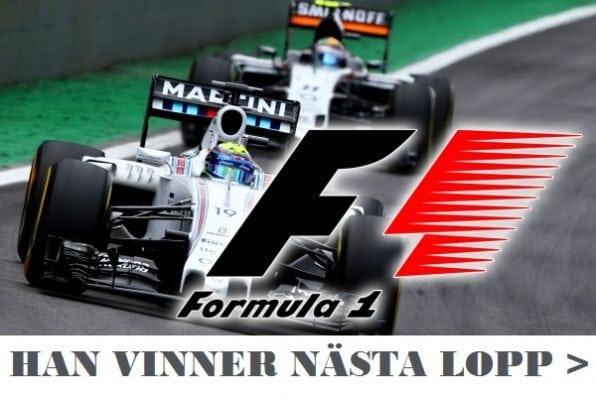 TV tider Formel 1