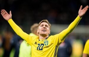 Uppgifter: Emil Forsberg jagas av fyra storklubbar i sommar