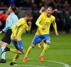 VIDEO: Ola Toivonen mål mot Chile (1-1) - Sverige - Chile 1-1, 2018-03-24
