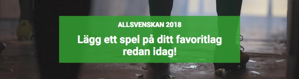 Vilka åker ur Allsvenskan 2018
