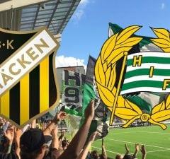 BK Häcken Hammarby 2018
