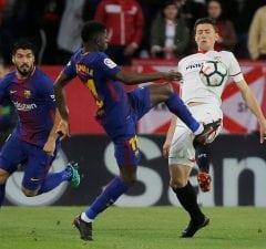 Barcelona siktar in sig på Lenglet