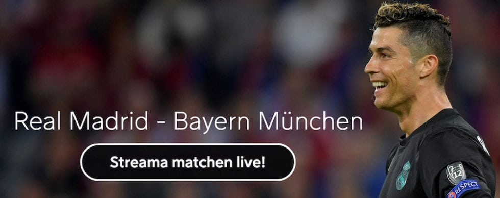 Bayern Munchen Real Madrid stream gratis? Real Madrid Bayern Munchen live stream