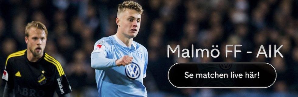 Malmö FF AIK TV – vilken kanal visar Malmö FF - AIK på TV? TV Tider!