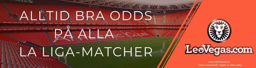 Odds vinnare 2018-2019