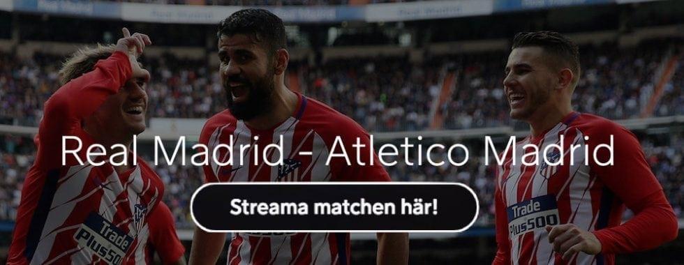 Real Madrid Atletico Madrid laguppställning, startelva & H2H-statistik inför Madridderbyt!
