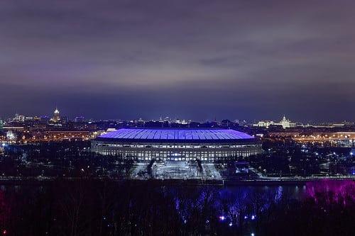 Största arenan i Ryssland