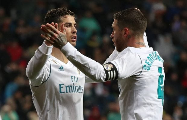 Sergio Ramos sågar Mohamed Salah