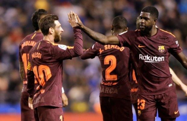 Barcelona vill försäkra sig om Umtitis framtid