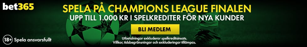 Odds Champions League final 2019? Oddset vinnare 2017:18!