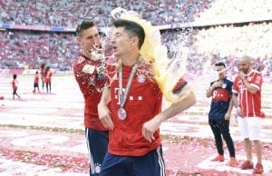 Robert Lewandowski vill lämna Bayern Munchen