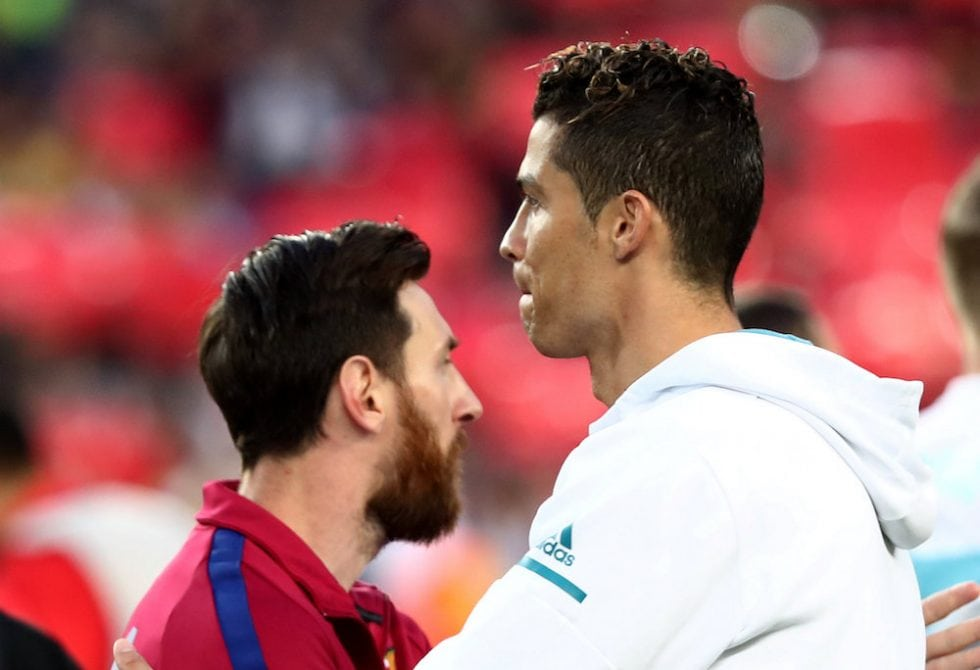 Ronaldo vs Messi UEFA Champions League titles and winners medals