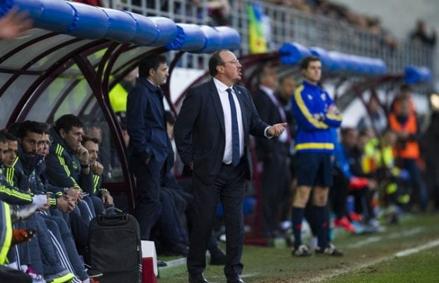 Sparkades från Real Madrid - Benitez nära nytt jobb