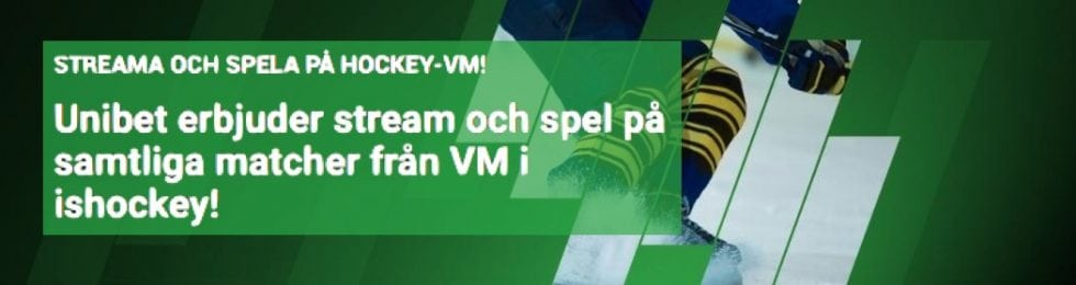 Streama Hockey VM 2018 live stream gratis online