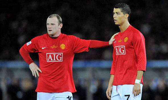Wayne Rooney nära DC United