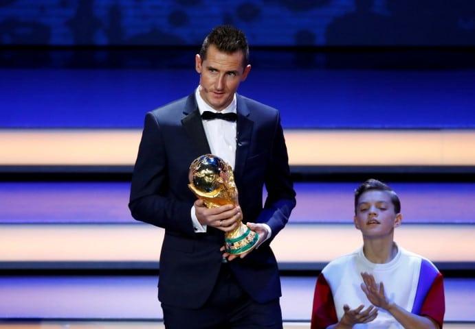 Miroslav Klose är bästa målskytt i VM genom tiderna
