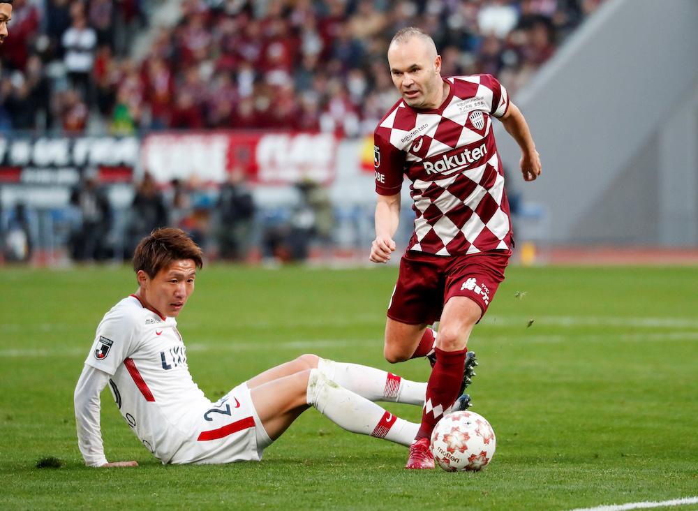 Bäst betalda fotbollsspelare i världen Andres Iniesta
