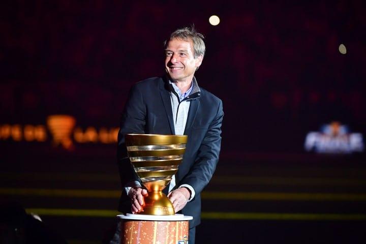 Jurgen Klinsmann är en av de bästa målgörarna i fotbolls VM genom tiderna