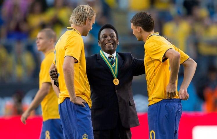 Pele är en av de bästa målgörarna i VM genom tiderna