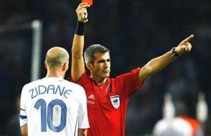 Flest röda kort i VM 2018 odds
