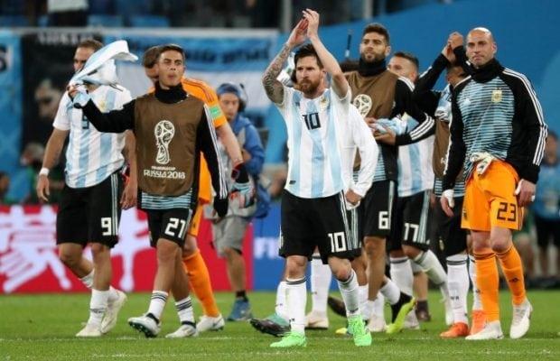 Frankrike Argentina stream  Streama Fotbolls VM 2018 live gratis online! 98f858f17a60f