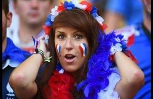 Franska tjejer fotbolls vm