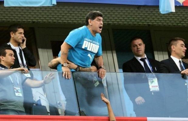 Maradona Ramos hade ni förlåtit direkt