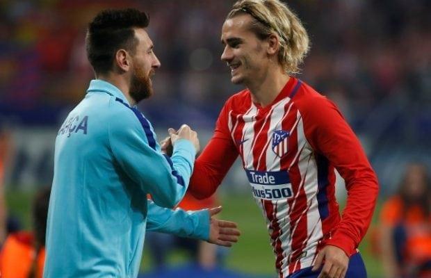 Messi hyllar Griezmann - vill se flytt till Barca