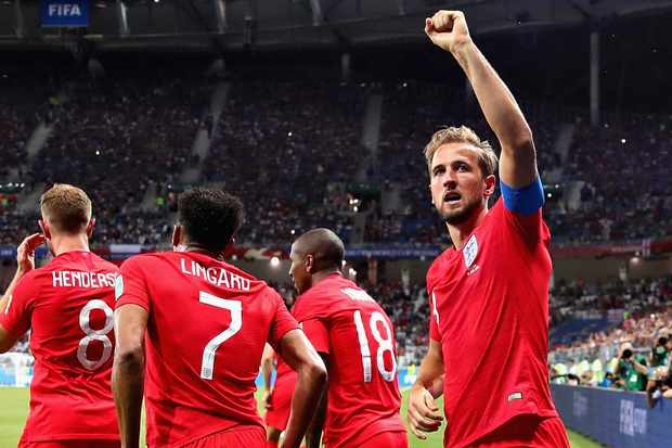 Odds England att vinna VM