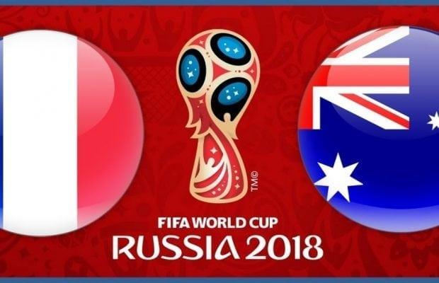Speltips Frankrike Australien - bästa odds tips FRA vs AUS i Fotbolls VM 2018!