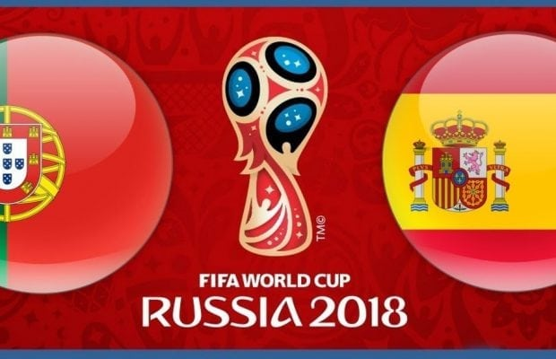 Speltips Portugal Spanien - bästa odds tips Portugal Spanien Fotbolls VM 2018!